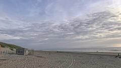 SunSet (gill4kleuren - 14 ml views) Tags: sunset noordwijk beach clouds sky people