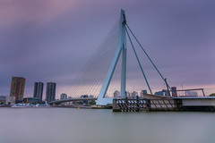 2017.06.22. Rotterdam (Péter Cseke (mostly OFF until July 23)) Tags: firecrest formatt hitech erasmus bridge rotterdam europe holland netherlands longexposure nikon d750 city architecture buildings travel