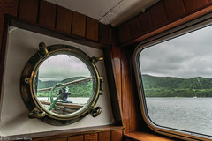 Lady Wakefield Cabin (joanjbberry) Tags: ullswater cumbria lakedistrict ullswatersteamers lake mountains water trees countryside boat boattrip steamer cabin windows