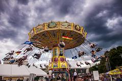 High speed carousel (Itsnotme!) Tags: darmstadt heinerfest carousel highspeed rotating children fun fair entertainment enjoy sky ride summer