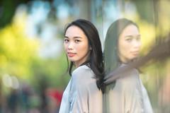 Portrait - Mei (Akirawisnu) Tags: portrait people human girl woman interest cute beauty outdoor cantik indonesia tamansuropati tamanmenteng jakarta