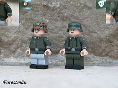 Prinz Eugen soldiers (Forestmän) Tags: lego ww2 wwii world war custom camo prinz eugen waffen ss