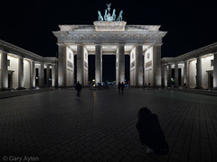 "Brandenburg Tor at midnight • <a style=""font-size:0.8em;"" href=""http://www.flickr.com/photos/44919156@N00/35635994882/"" target=""_blank"">View on Flickr</a>"