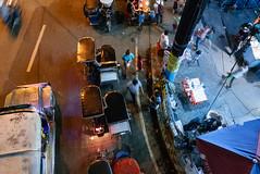 Busy Street (bryanshoots) Tags: urban night city lights alabang muntinlupa philippines panasonic lumix lx100 street streetphotography