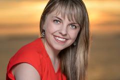 Kaitlin - Topsail Beach Sunset Shoot (bonavistask8er) Tags: nikon d7100 85mm model portrait smile sunset warmth summer topsail beach evening sb910 cls hss highspeedsync people outdoors