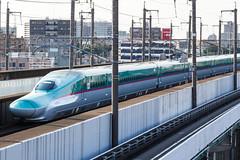 Tohoku Shinkansen E5 series 002 (A.S. Kevin N.V.M.M. Chung) Tags: train rail japan omiya jr shinkansen highspeedrailway