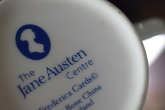 Jane Austen and tea, a great combination. Bottoms up macro mondays (jan.ashdown) Tags: cupoftea mug cup janeaustencentrebath bath austen janeausten tea closeup macro macromondays upsidedown upsidedownmacromondays bottomsup