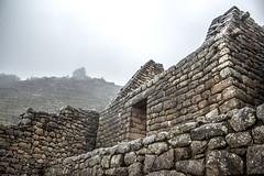 Ruins & Fog (matiasrquiroga) Tags: ruins fog foggy cloudy soft building ruinas construcción machu picchu peru south america latinoamerica stone rocks travel trip tour