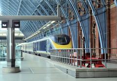A Eurostar train (CPShips) Tags: eurostar stpancras london