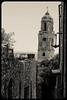 Old city (franz75) Tags: nikon coolpix s6600 italia italy liguria bussana bussanavecchia old vecchio black white chiesa church terremoto earthquake rovine ruins campanile