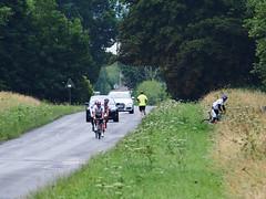 wrong turn (mark.griffin52) Tags: olympusem5 england buckinghamshire cheddington mentmoreroad countrylane traffic runner cyclists road