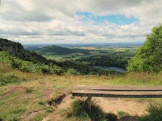 Sutton Bank on the Cleveland way