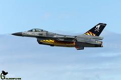 NTM Landivisau 8-6-2017 F-16AM FA-94 31 Sml (Goldenflyer) Tags: ntm landivisau 862017 f16am fa94 31 sml kleinebbrogel pirat tiger nato meet tigers france ban