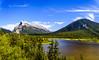 Mount Rundle + Vermilion Lakes (gerritebert) Tags: nationalpark canada kanada banffnationalpark banff alberta mountrundle mtrundle rundle vermilionlakes vermilion lakes
