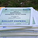 Books of ballot papers