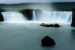 Goðafoss (webeagle12) Tags: iceland nikon d7200 europe mountains landscape vegetation nature mountain earth planet north goðafoss waterfall gods water