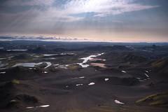 Highlander (Maddog Murph) Tags: iceland highlands landmannalaugar volcanic black sand light rays beams sun afternoon fall explore travel adventure superjeep jeep off road