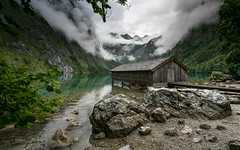Lake Obersee (Mika Laitinen) Tags: canon5dmarkiv europe germany köningssee leefilters obersee calm cloud color lake landscape mountain nature outdoors rock serene sky summer water schönauamkönigssee bayern de