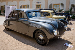 1935 Škoda 935 Dynamic (The Adventurous Eye) Tags: 1935 škoda 935 dynamic chateau loučeň concours d´elegance 2017 classic car fair