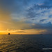 Gold-Blue sunset from the yacht      XOKA7910s