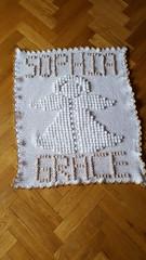 Angel blanket for Sophia (dochol) Tags: ange anjo angel blanket babybalanket manta cute craft handmade homemade handcrafted haakwerk hakeln haakenwert crochet croche alphabet name personalised