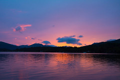 Loch Lomond (Alec-Gibson) Tags: lochlomond scotland sunset water sky goldenhour
