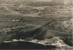 Aerial view, Cape Byron and Byron Bay c1940 (RTRL) Tags: capebyron byronbay