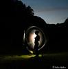 self-portrait (Meli's Eye) Tags: lightpainting light selfie self portrait night melisa lefebvre nikon d750 peinture lumiere