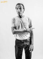 Dominique (Raul Santano) Tags: actor película films cine figurantes portrait retrato studiomaddos sesion photographer santano