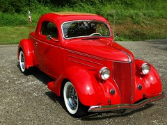 1936   Yesterday's Ford Coupe (e r j k . a m e r j k a) Tags: ride cars coupe pennsylvania roadside erjk 1936 ford