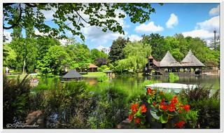 Flossfahrt im Heide-Park