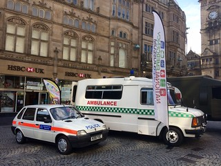 Emergency Vehicles, Sheffield 2017