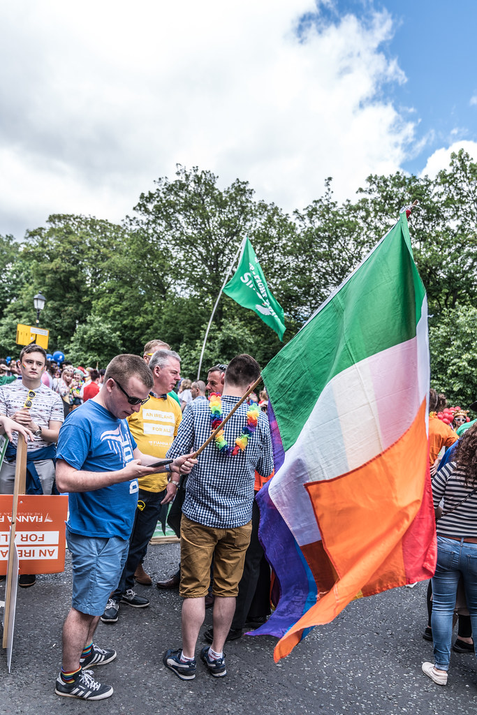 LGBTQ+ PRIDE PARADE 2017 [STEPHENS GREEN BEFORE THE ACTUAL PARADE]-129795