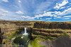 NT3.0091-WP170617_67165 (LDELD) Tags: palouse kahlotus washington palousefallsstatepark sunny clouds river canyon waterfall