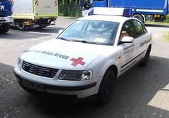 VW Passat - KdoW (?) (michaelausdetmold) Tags: drk deutschland detmold einsatz blaulicht fahrzeug auto car volkswagen vw passat