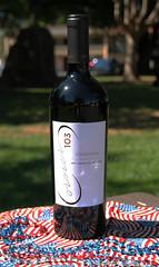 2012 Zinfandel, Dry Creek Valley (sarahstierch) Tags: wine vino wines drinking corner103 sonoma california winecountry promotionalphotography canon outdoors outside marketing plaza zinfandel redwine