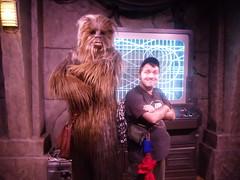 "Chewbacca (Charles ""The Disney Genius"" Brown) Tags: starwars chewbacca lucasfilm disney'shollywoodstudios disneymgmstudios waltdisneyworld orlando florida starwarslaunchbay animationcourtyard charlesbrown waltdisney georgelucas"