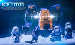 ICE Titan (Agaethon29) Tags: lego afol legography brickography legophotography minifig minifigs minifigure minifigures toy toyphotography macro cinematic 2017 legospace neoclassicspace spaceman classicspace space scifi sciencefiction ncs moc iceplanet commanderbear titan