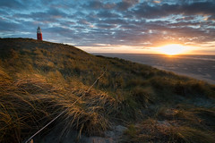 Texel Lighthouse (ajmurtha) Tags: sea ocean lighthouse sunset netherlands texel island clouds d610 nikon