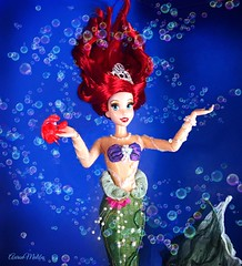 Life is da Bubbles! (Richard Zimmons) Tags: designer doll dfdc ariel little mermaid