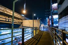 Alabang Overpass (bryanshoots) Tags: urban night city lights alabang muntinlupa philippines panasonic lumix lx100 street streetphotography