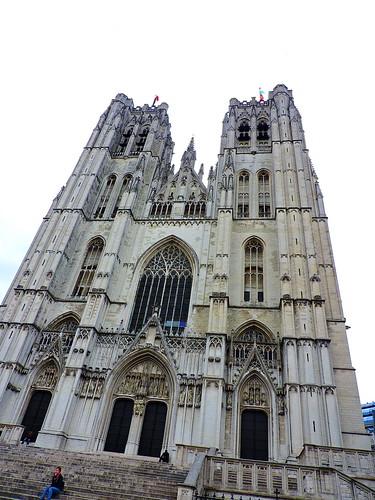 Cathédrale des Sts Michel et Gudule, Brussels