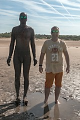 Another Place 5 (Glesgaloon) Tags: anotherplace crosby liverpool art publicart anthonygormley crosbybeach another place antonygormley ironmen