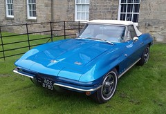 Corvette Stingray At Renishaw  Hall Derbyshire (Gary Chatterton 3 million Views Thank You All) Tags: corvette stingray car softtop american corvettestingray usa renishawhall derbyshire england flickr explore