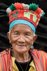 Ibaloi Tribe Woman #3 (FotoGrazio) Tags: asian filipina filipino ibaloi pacificislander philippines pinay streetphotography waynegrazio waynesgrazio woman artofphotography composition existinglightportrait eyes face fotograzio indigenous indigenouspeople native people portrait portraiture smile streetportrait tribe