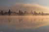 another space (zora_schaf) Tags: fog mist nebelstimmung anotherspace see eisweiher icking reflection spiegelung mystisch zoraschaf surreal