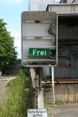 Abandon supermarket (PaperInstax) Tags: abandon supermarket karstadt hertie germany parkdeck parkingdeck