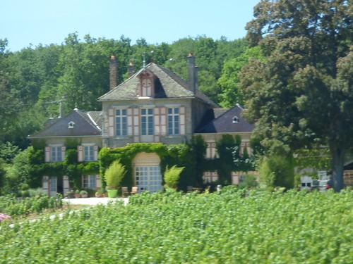Route des Grands Crus - Corgoloin - Route nationale - Domaine d'Ardhuy