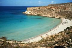 Isola dei Conigli_Lampedusa (Mauro Bettarel) Tags: lampedusa mare sea colori spettacolo vacanze italia isola dei conigli