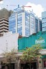 Family and Pampers - 25th March 2017 (princetontiger) Tags: kenya construction buildingwork crane pampers nappies familyplanning familybank juxtaposition